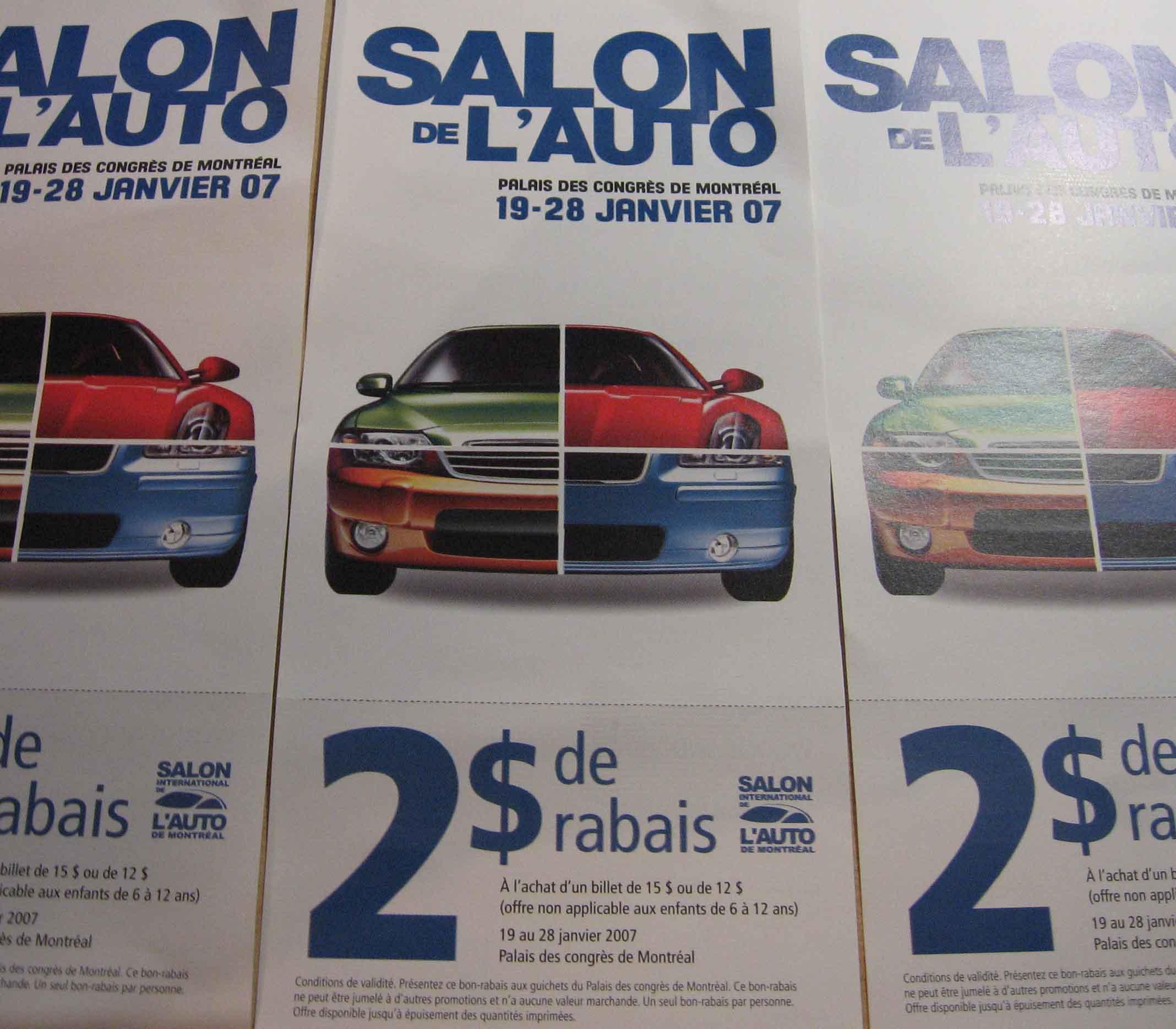 Salon de l'auto Montréal 2007