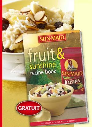 Sunmaid - Livre de recettes gratuit