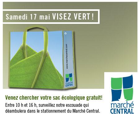 Marché Central : Sacs écologiques gratuits le 17 Mai prochain